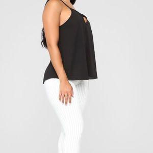 Fashion Nova Black Cami